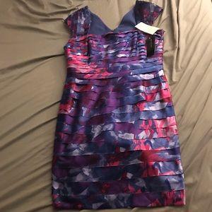 Jones New York BlackWatch Hyacinth dress